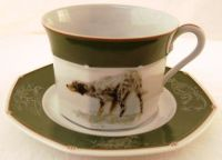 Hermes cup and saucer breakfast - US $ 1