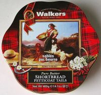 Walkers Pure Butter Shortbread cookie tin - US $ 14.95
