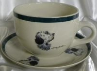 Wild Wings Soup Bowl Cup and Saucer - US $ 9.95