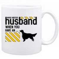 who needs a husband when you have an English Setter - priceless ;)